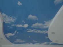 Двухуровневые потолки Облака